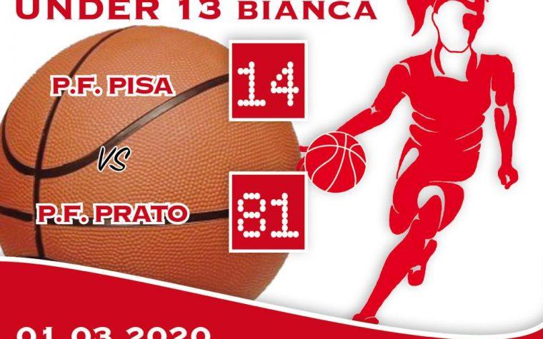 Under 13: PFPi Bianca – PF Prato