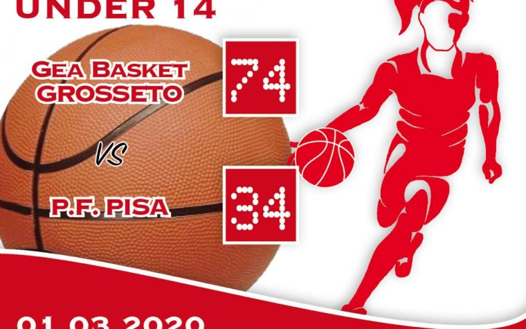 Under 14: Gea Grosseto Basket –  PFPi